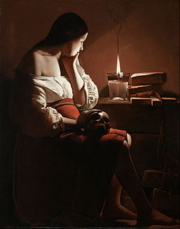 Georges de La Tour - The Magdalen with the Smoking Flame - Google Art Project