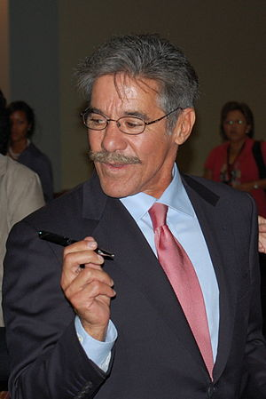 Geraldo Rivera - Rivera after delivering the keynote at the Congressional Hispanic Caucus Institute's 2008 Public Policy Conference