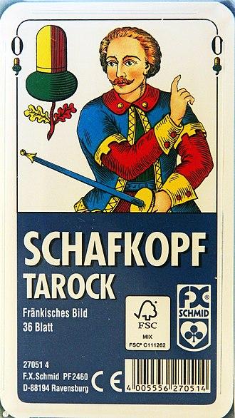 Bavarian Tarock - Tarock pack: Franconian pattern