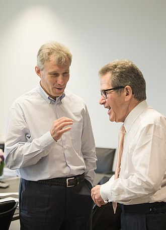 German Khan - German Khan and L1 Energy colleague Lord Browne in 2016.