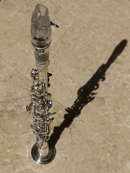 File:German mouthpiece on the Silva Bet silver clarinet S5047.JPG