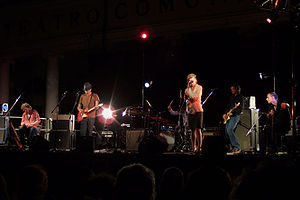 Giant Sand - Giant Sand performing in Faenza, Italy in 2006