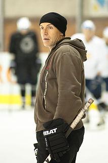 Gil Montandon Swiss ice hockey player