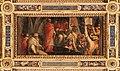 Giorgio vasari e aiuti, clemente IV concede le sue insegne ai capitani di parte guelfa, 1563-65, 01.jpg