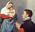 Giovanni Battista Moroni - A Gentleman in Adoration before the Madonna - National Gallery of Art.jpg