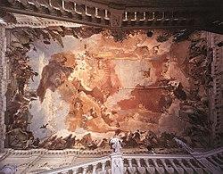 Giovanni Battista Tiepolo - Apollo and the Continents - WGA22323.jpg