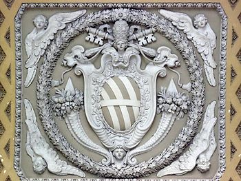 English: Basilica of St. John Lateran - detail...