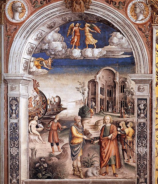Giovanni Maria Falconetto - Sign of Gemini - WGA07750