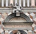 Giovanni antonio amadeo, facciata della cappella colleoni, 1472-75, finestra di dx 01.JPG
