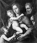 Giulio Romano - The Holy Family, St John with a small Bird in his Hand - KMS570 - Statens Museum for Kunst.jpg