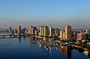 Giza on the Nile River