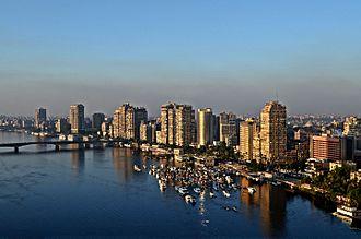 Giza - Image: Giza Nile