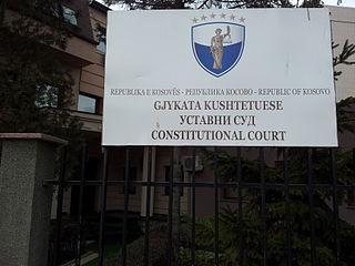 Constitution of Kosovo Supreme law of the Republic of Kosovo