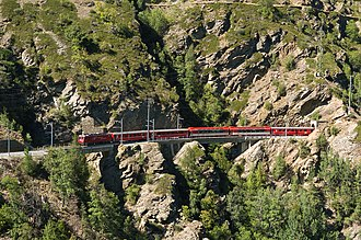 Matterhorn Gotthard Bahn - Image: Glacier Stalden