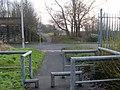 Glasgow-Loch Lomond Cycleway in Yoker - geograph.org.uk - 1091553.jpg