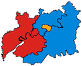 GloucestershireParliamentaryConstituency2001Results.png