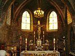 Gniezno. Klasztor bożogrobców. Prezbiterium kościoła.