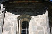 Gościszów Kościół Matki Bożej Częstochowskiej fryz z dekoracja figuralna 06.JPG