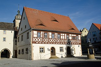 Gochsheim - Gochsheim Rathaus, or Town Hall