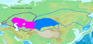 Göktürk civil war - Turkic Empire