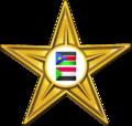 Gold Southern Sudan and Sudan Barnstar.png