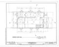 Gonzalez-Alvarez House, 14 Saint Francis Street, Saint Augustine, St. Johns County, FL HABS FLA,55-SAUG,11- (sheet 4 of 14).png
