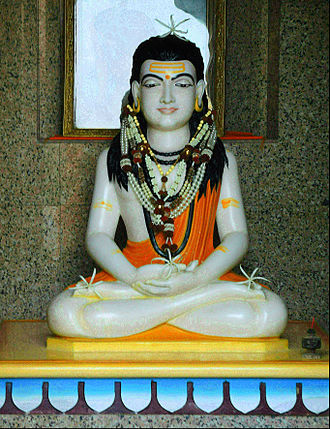 Yogi - A sculpture of Gorakhnath, a celebrated yogi of Nath tradition and a major proponent of Hatha yoga.