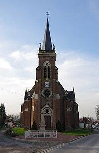 Gorenflos église et monument-aux-morts 1 •K5•1456.jpg