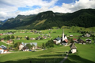 Gosau Place in Upper Austria, Austria