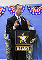 Governor Martin O'Malley speaks at the deployment ceremony for the Maryland National Guard's 1729th Field Support Maintenance Company.jpg