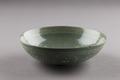 Grön koreansk skål från 1100-talet, Goryeo dynastin - Hallwylska museet - 96207.tif