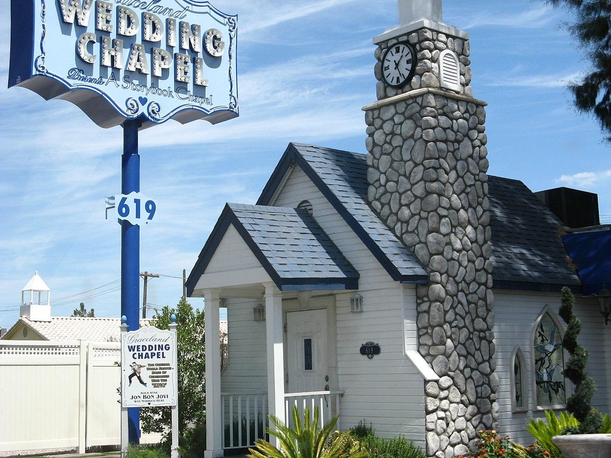 graceland wedding chapel wikipedia