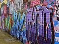Graffiti Wall on Maidens Walk (geograph 2807701).jpg