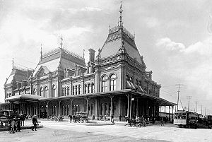 Grand Trunk Railway - Grand Trunk's Bonaventure Station, Montreal, 1900s
