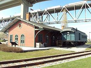 Thomas Edison Depot Museum - Image: Grand Trunk Western Railroad Depot