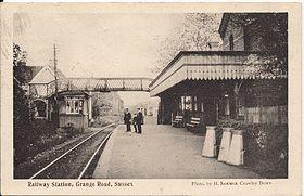 Grange Road Railway Station Wikipedia