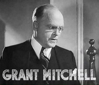 Grant Mitchell (actor) American actor