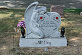 Grave adornment 03 - Glenwood Cemetery - 2014-09-19.jpg