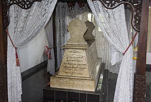 Ranggawarsita - Ranggawarsita's grave in Klaten, Central Java