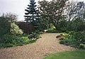 Gravel path winding through Denmans Garden, Fontwell - geograph.org.uk - 349268.jpg