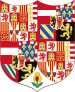 Greater Arms of Charles V Holy Roman Emperor, Charles I as King of Spain.svg