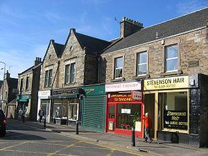Broxburn - Greendykes Road as of 2005