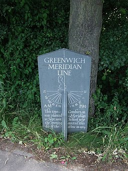 Greenwich Meridian line in Cambridgeshire - geograph.org.uk - 869611