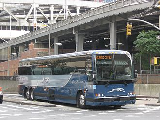 Port Authority Bus Terminal - There are ramps to the Lincoln Tunnel, while the lower level of the North Wing connects with a tunnel under Ninth Avenue
