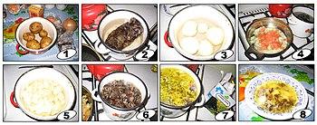 Рецепт грибного супа из белых грибов пюре
