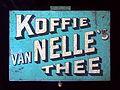 Groot blauw vanNelles koffie-thee blik, foto 1.JPG