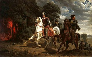 The Escape of Henry of Valois from Poland.