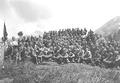 Gruppenbild einer Kompanie Gebirgsinfanteristen - CH-BAR - 3239852.tif