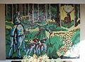 GuentherZ 2012-03-03 0718 Kleinschweinbarth Schweinbarther Berg Hubertuskapelle Mosaik.jpg