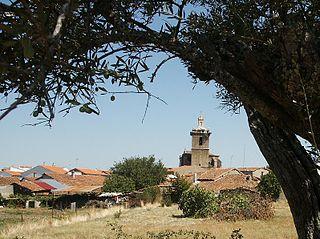 Guijo de Coria human settlement in Cáceres Province, Extremadura, Spain